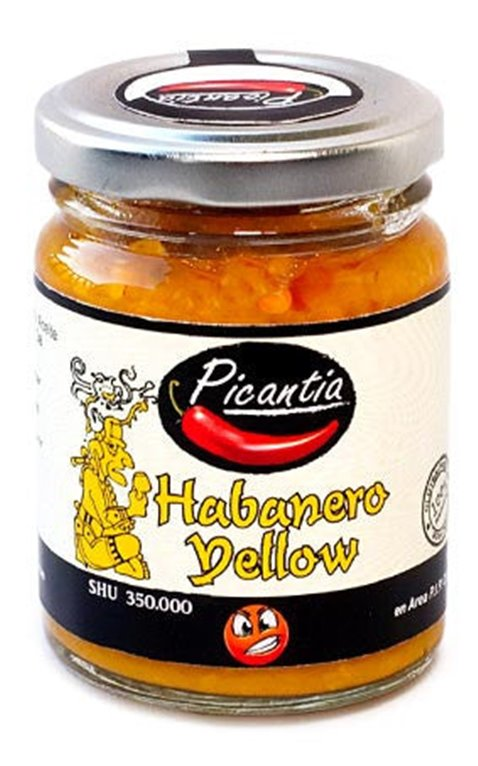 Pasta de habanero amarillo 106ml