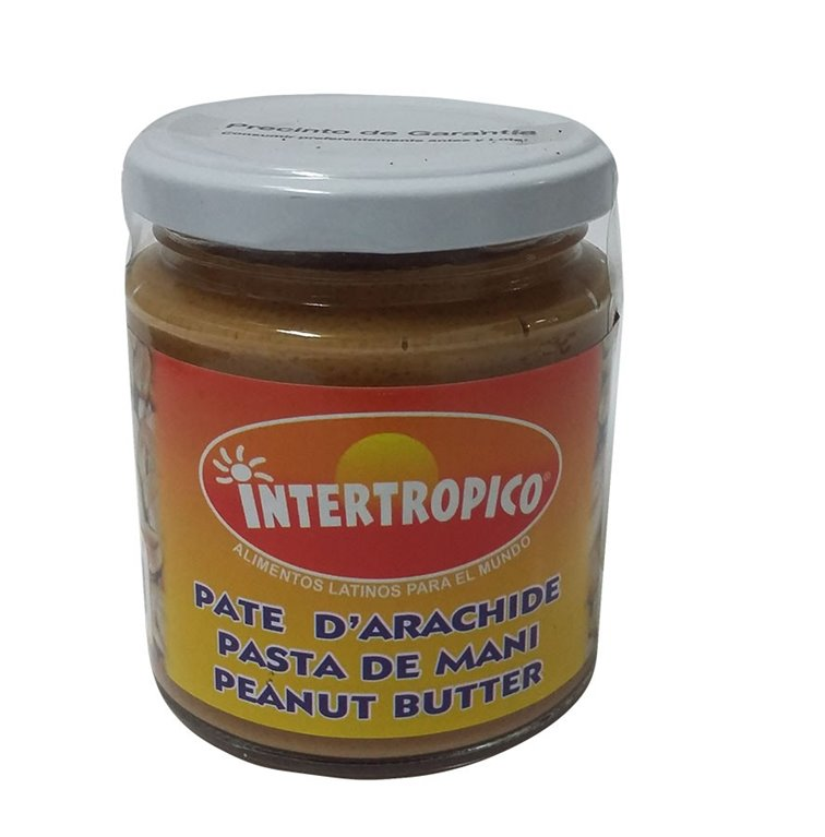 PASTA DE MANI INTERTROPICO X 250ML