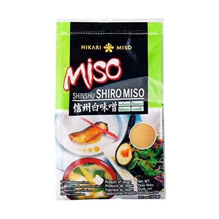 Pasta de Miso Blanco NO MSG (Shiro Miso) 400g