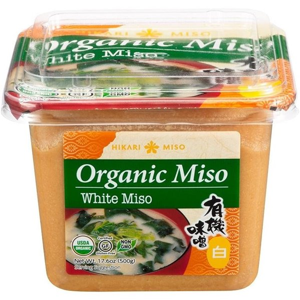 Pasta de Miso Blanco Sin Gluten Bio 500g