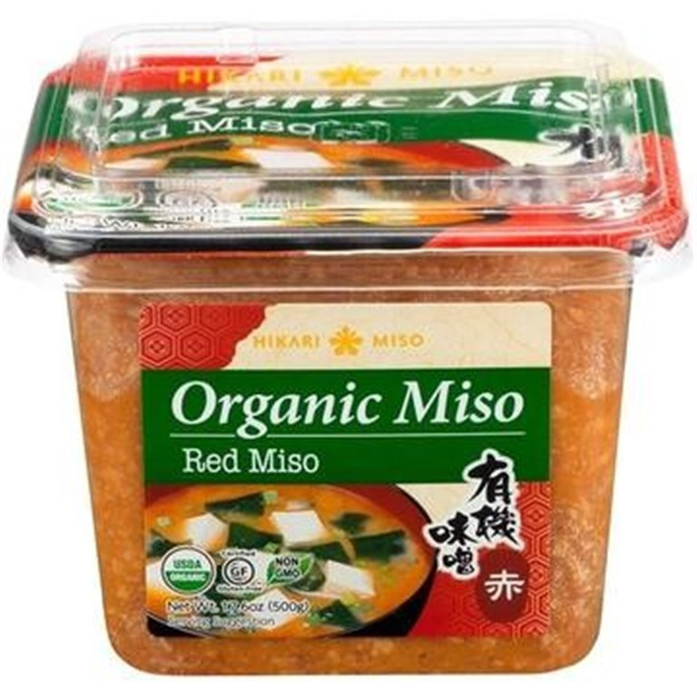 Pasta de Miso Rojo (Aka Miso) Bio 500g