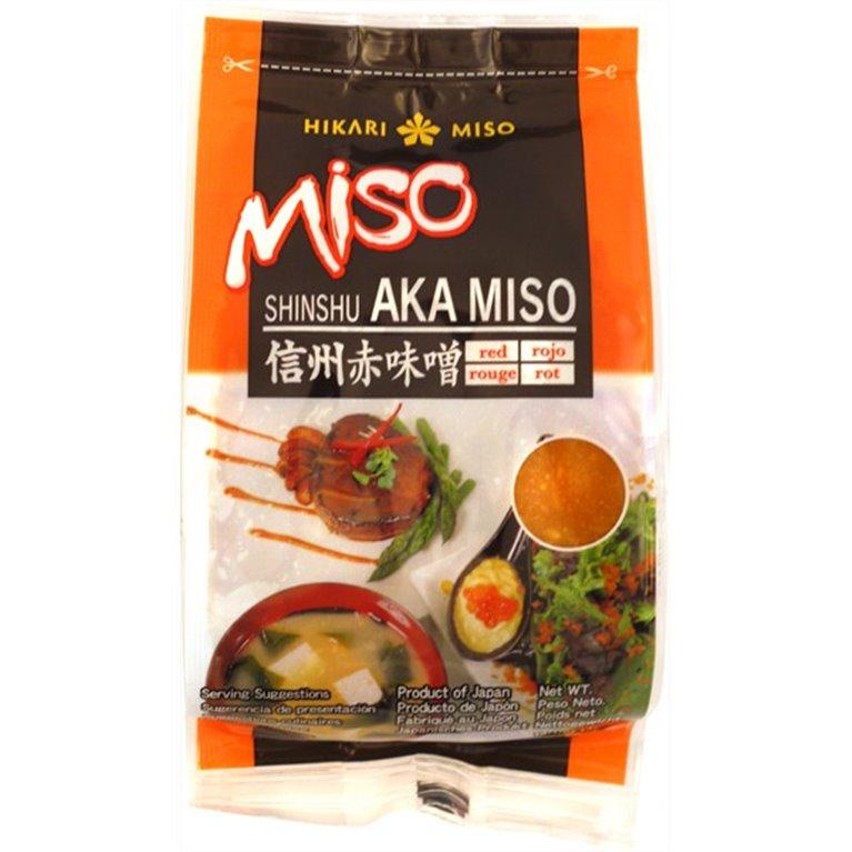 Pasta de Miso Rojo NO MSG (Aka Miso) 400g