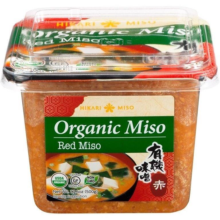 Pasta de Miso Rojo Sin Gluten Bio 500g
