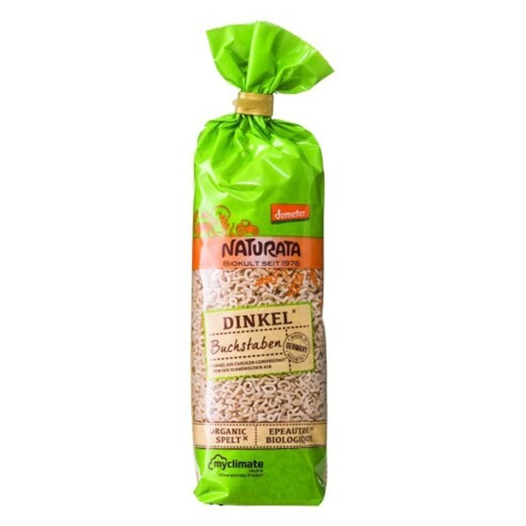 Pasta para Sopa Letras de Espelta Bio 250g, 1 ud