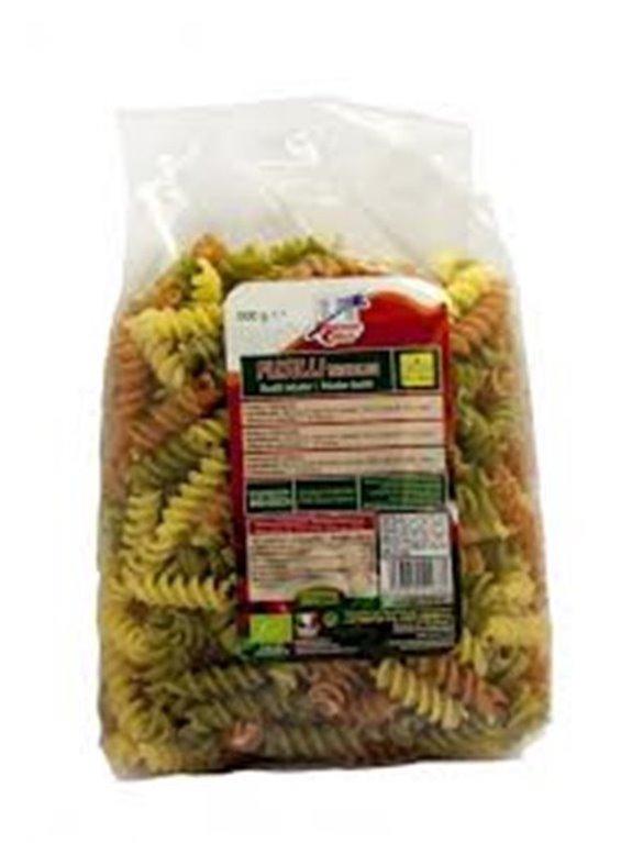 Pasta Fusilli Tricolor, 500 gr