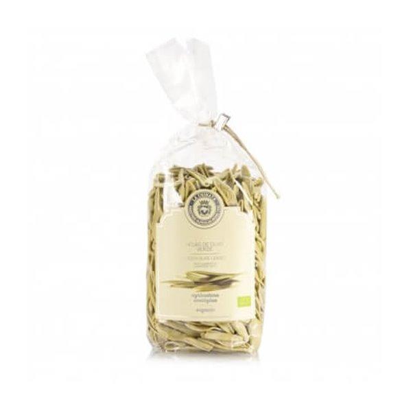 Pasta hojas de olivo verde ecológica La Chinata