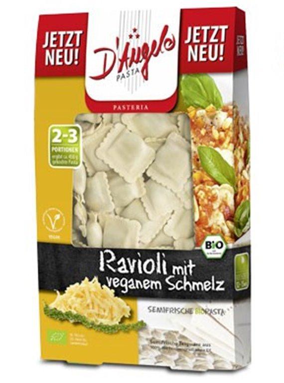 Pasta semifresca Ravioli fusión vegana, 250 gr