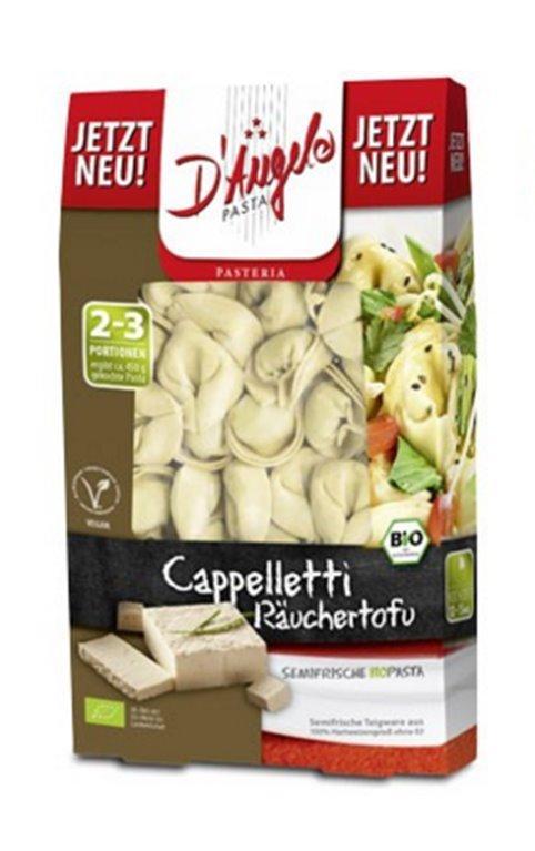 Pasta semifresca rellena con tofu, 250 gr