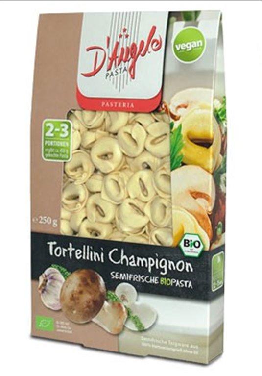 Pasta semifresca Tortellini con setas, 250 gr