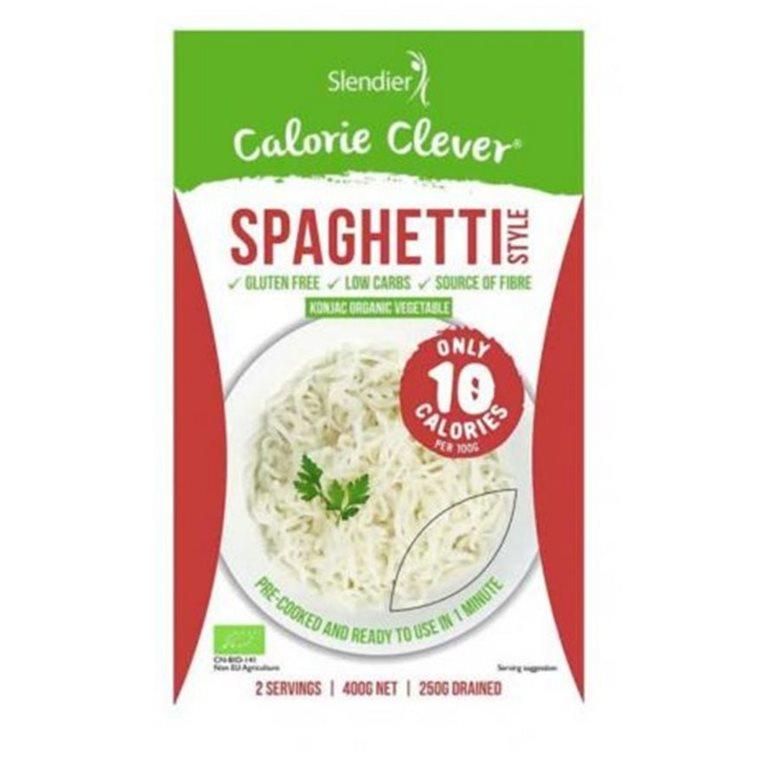 Pasta Shirataki de Konjac Spaghetti Sin Gluten Bio 400g