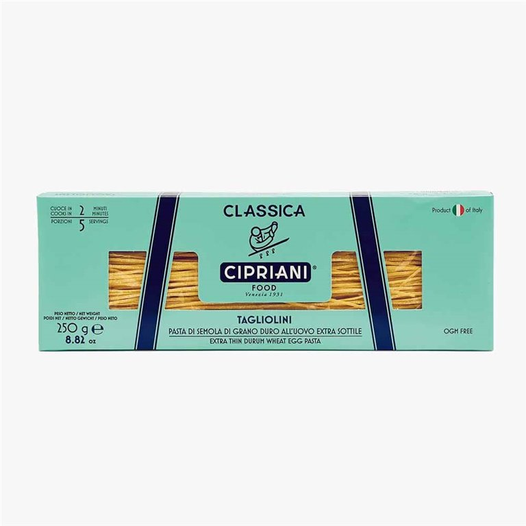 Pasta Tagliolini 250 g Cipriani