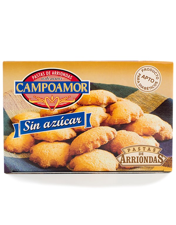 Pastas artesanas de Arriondas Campoamor Sin Azúcar