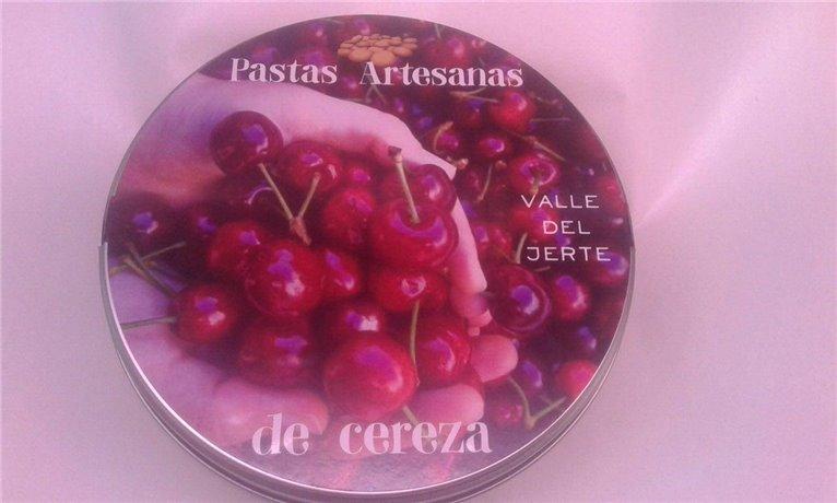 Pastas Artesanas de cereza, 1 ud