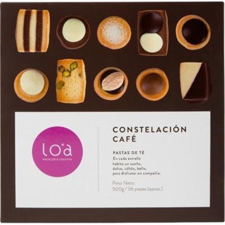 Pastas de té Loa Constelación café