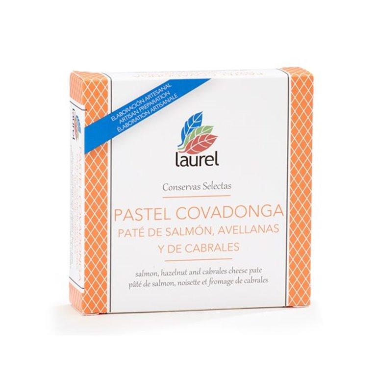 Pastel Covadonga (Salmón ,Cabrales y Avellana), 190 gr