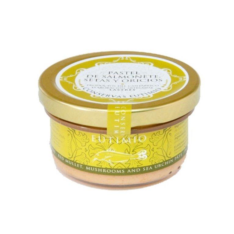 Pastel de Salmonete, Setas y Oricios