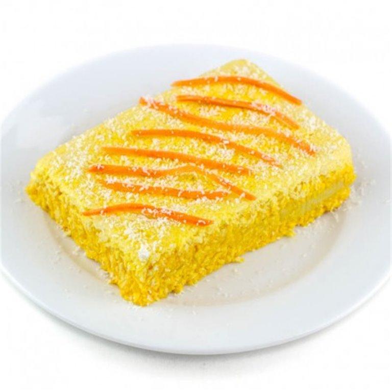 Pastel de Zanahoria Sin Gluten, 1 ud
