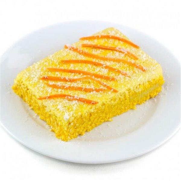 Pastel de Zanahoria Sin Gluten