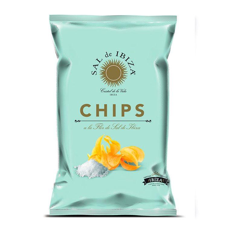 Patatas Chips Flor de Sal
