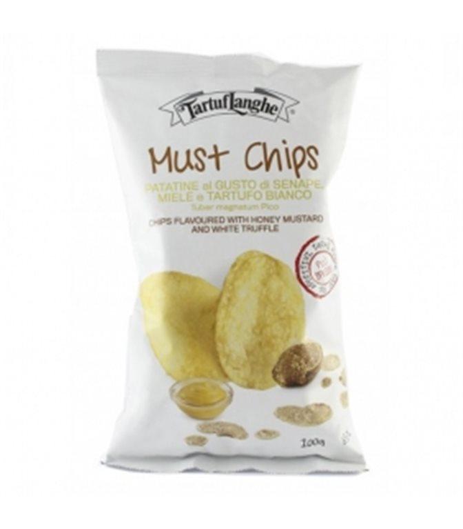 Patatas con Miel y Trufa Blanca 100gr. Tartuflanghe. 9un.