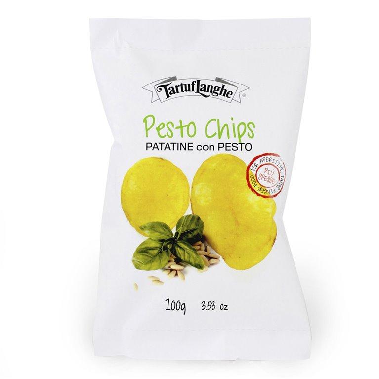 Patatas con Pesto 100gr. Tartuflanghe. 9un., 1 ud