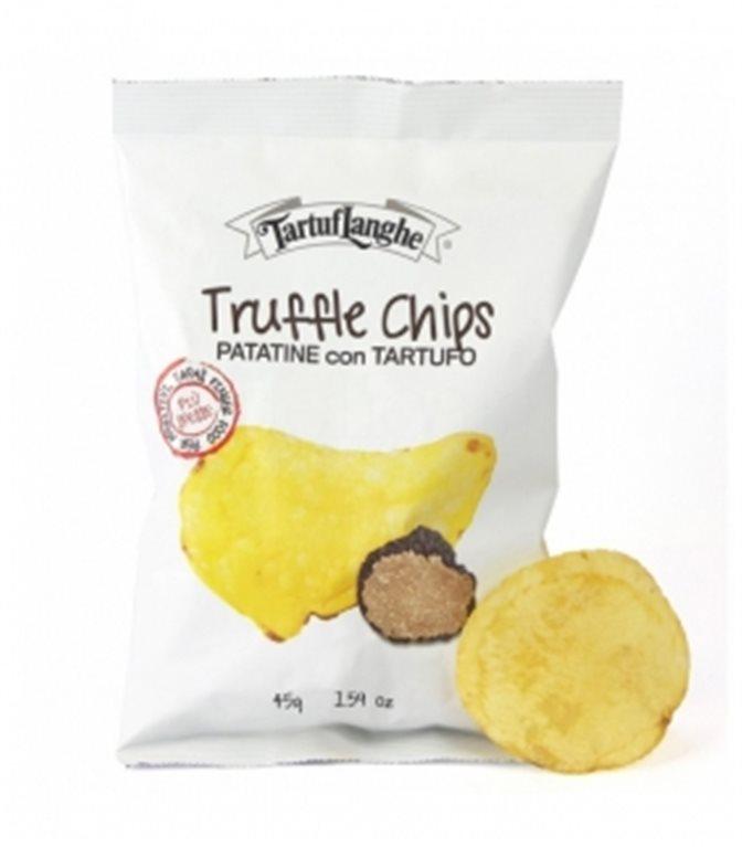 Patatas con Trufa 45gr. Tartuflanghe. 18un.