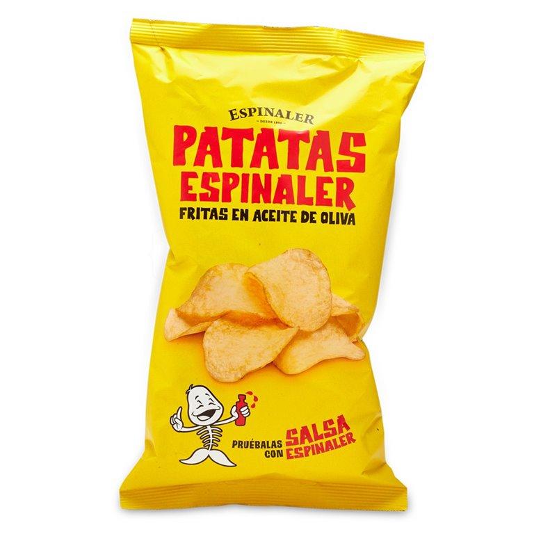 Patatas fritas 150gr. Espinaler. 10un., 1 ud