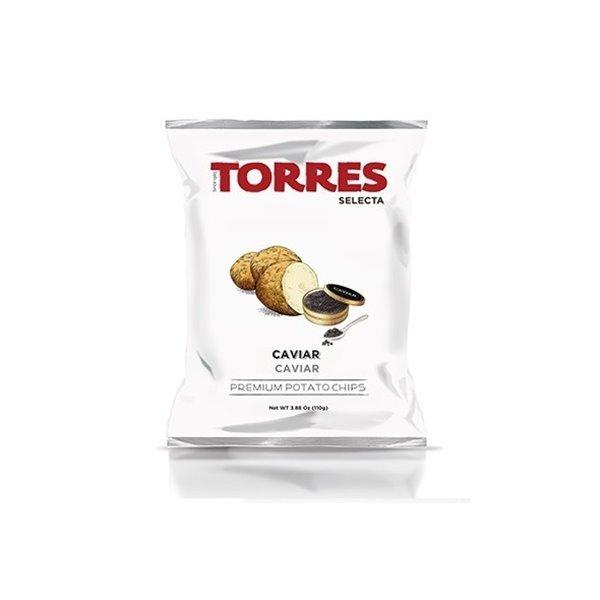 Patatas Fritas al Caviar Torres Selecta 110 gr.