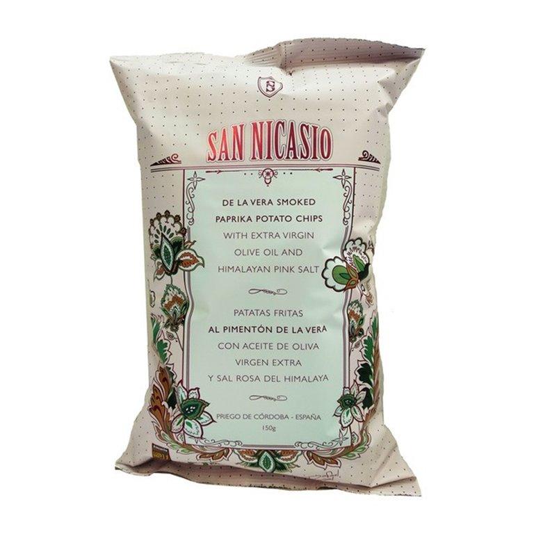 San Nicasio paprika chips with paprika - 150 g.