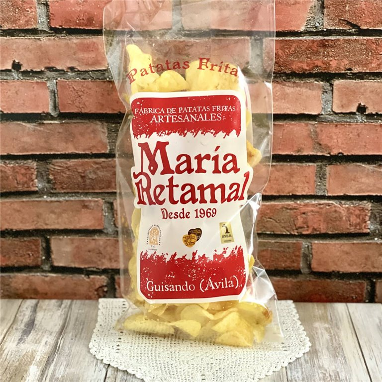 María Retamal handmade potato crisps