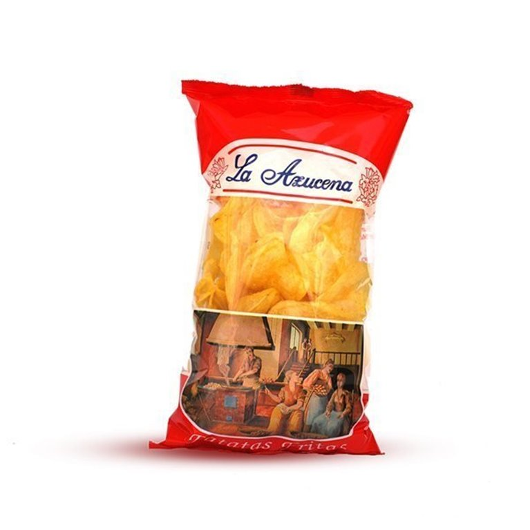 Patatas fritas Artesanas La Azucena. Bolsa de 145g
