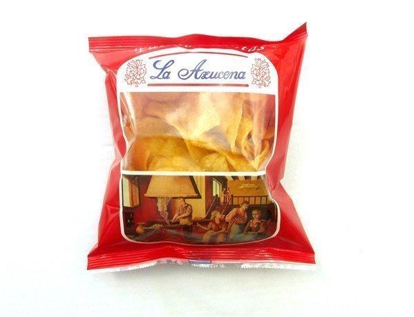 Patatas fritas Artesanas La Azucena. Bolsa de 60g