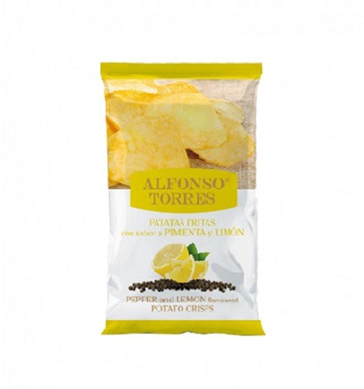 Patatas Fritas con Pimienta y Limón Alfonso Torres