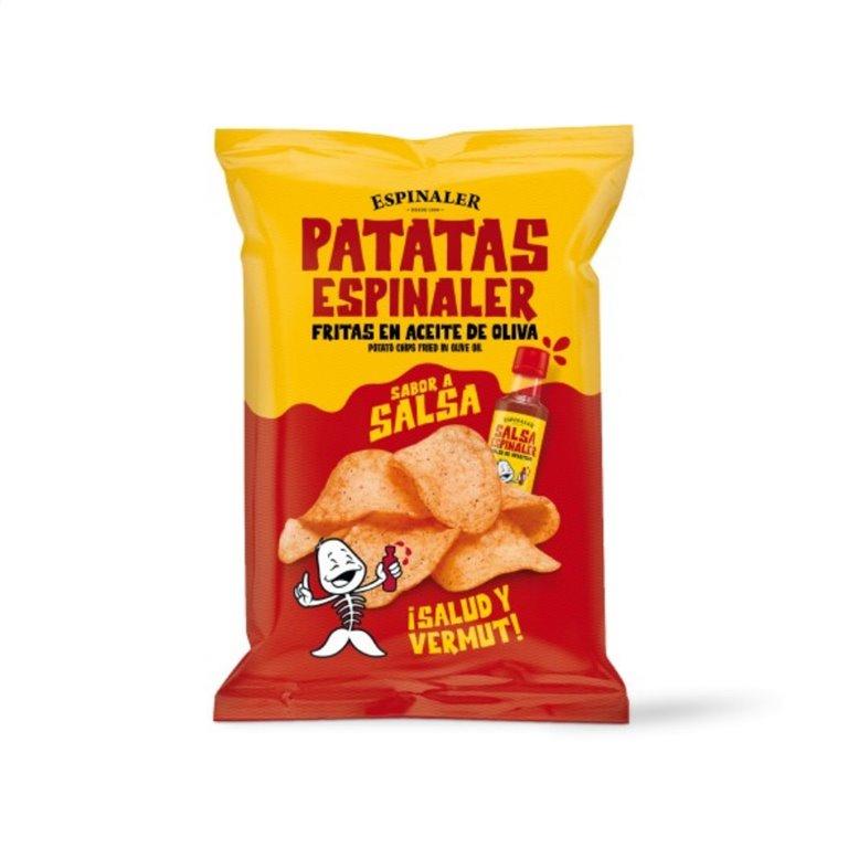 Patatas Fritas con Salsa Espinaler 125 gr., 1 ud