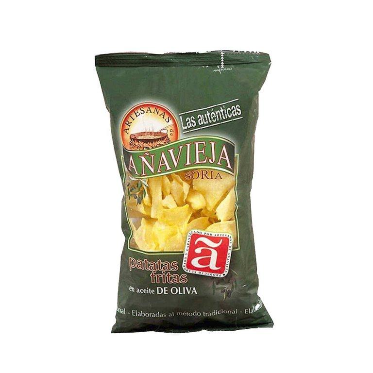 Potato crisps in olive oil 150 g. Añavieja