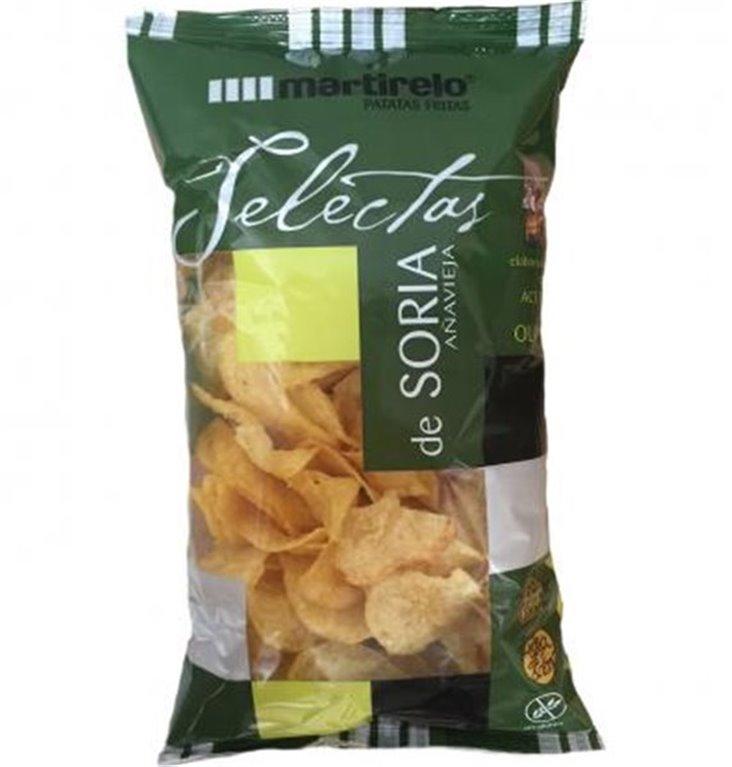 Patatas fritas en aceite de oliva (150 gr la bolsa)