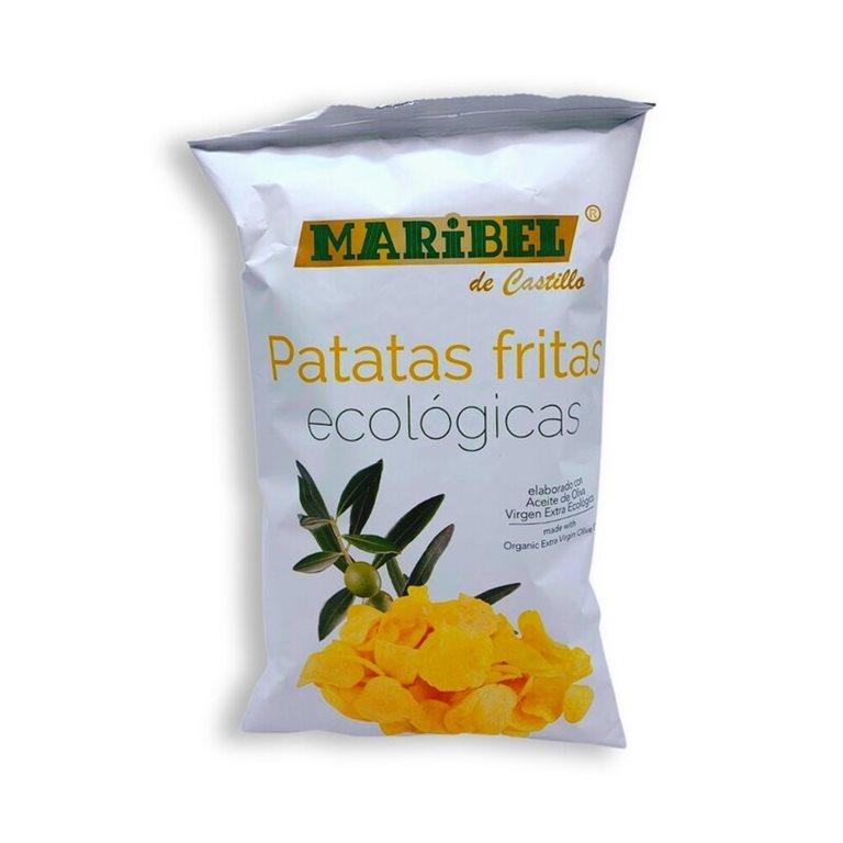 Patatas fritas en aceite de oliva BIO - 130g Maribel