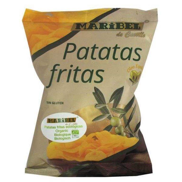 Patatas fritas en aceite de oliva BIO - 50g Maribel
