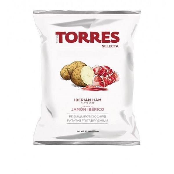 Patatas Fritas Jamón Ibérico Torres 150 gr.