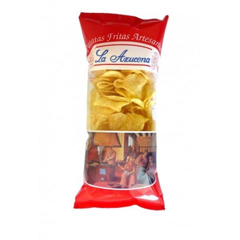 Patatas fritas La Azucena (con sal)