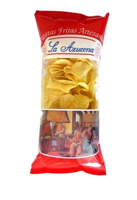 Patatas fritas La Azucena (sin sal)