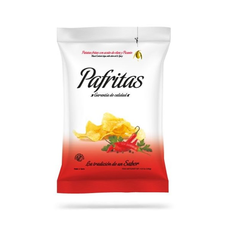 Spicy potato chips Pafritas