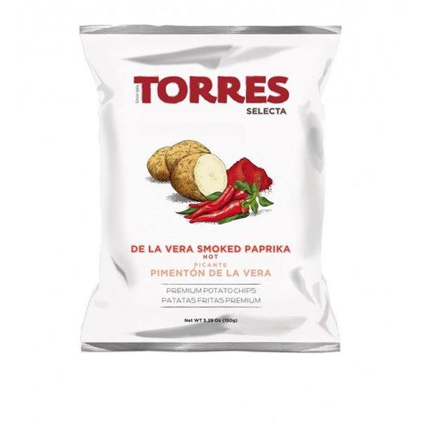 Patatas Fritas Pimentón Picante Torres 150 gr.