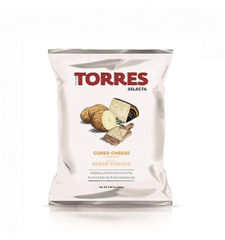 Patatas Fritas Queso Curado Torres 150 gr