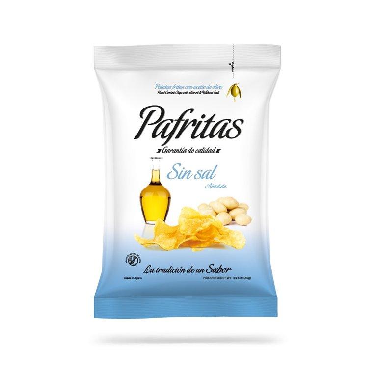 Patatas Fritas Sin Sal Pafritas