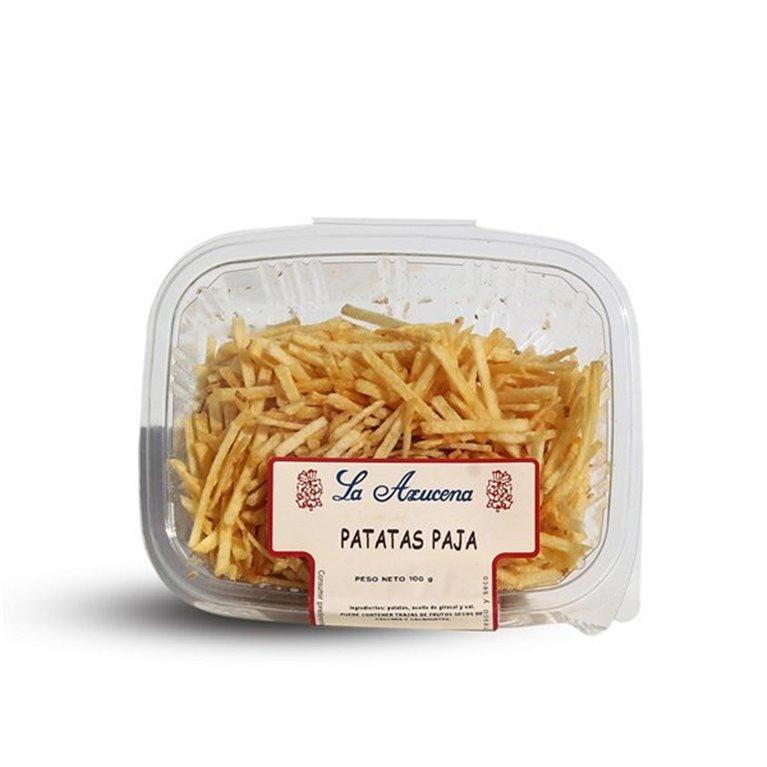 Patatas Paja La Azucena. Envase de 100g
