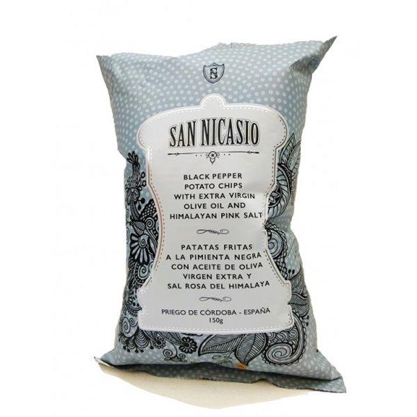 Patatas San Nicasio a la Pimienta Negra 150 gr.