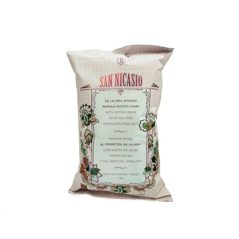 Patatas San Nicasio al Pimentón de la Vera 150 gr., 1 ud