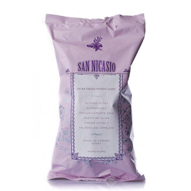 Patatas San Nicasio con Aceite de Oliva Virgen Extra 150 gr., 1 ud