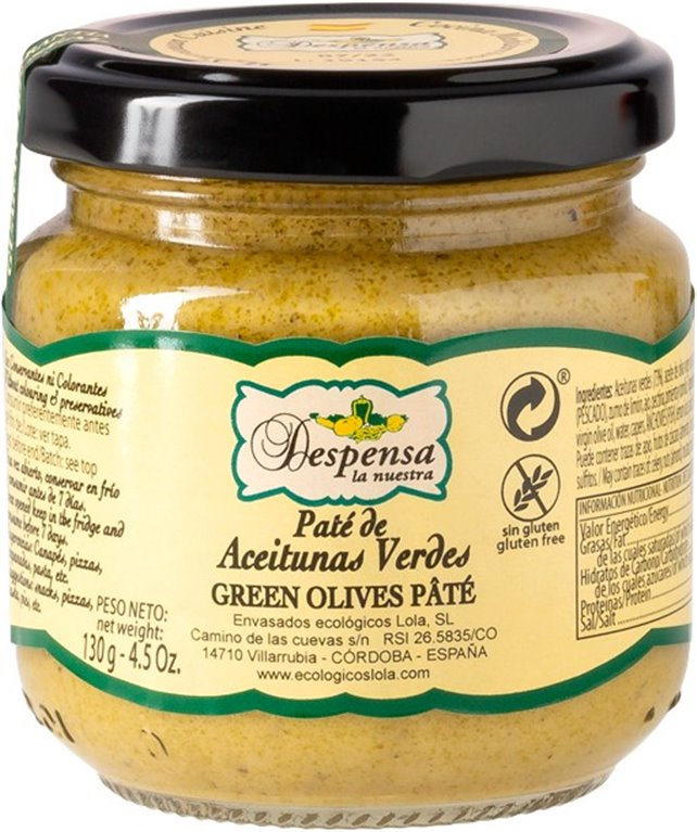 Green Olives Pate